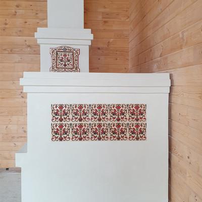 Традиционная русская печь. Крым.