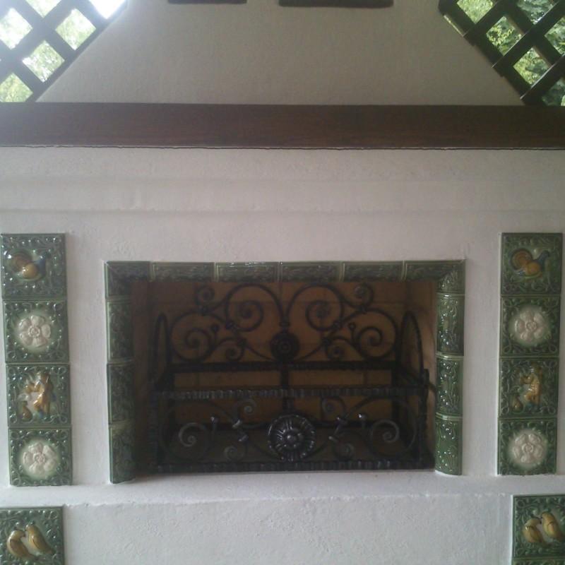 Мангал-камин