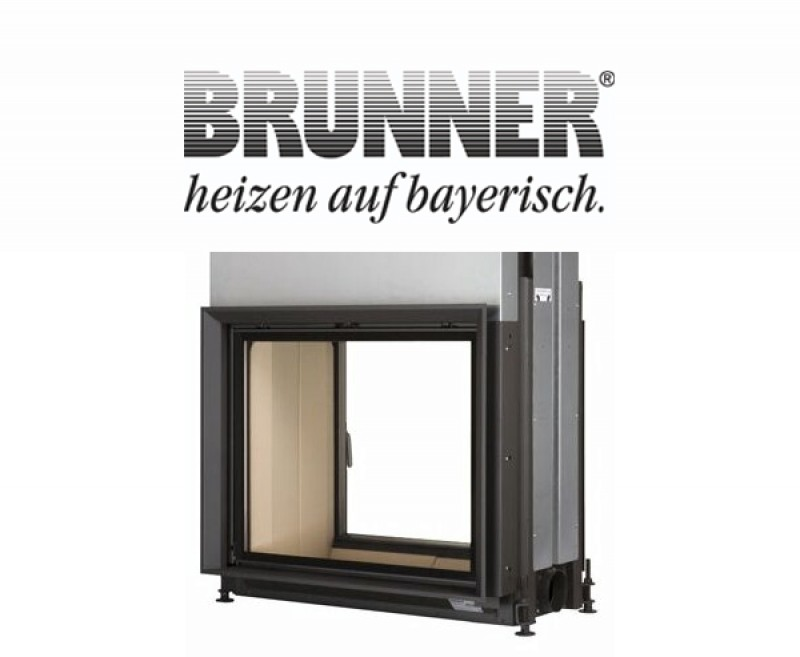 Новый видео-обзор: каминная топка BRUNNER Stil